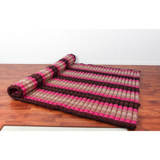 Leewadee Roll Up Thai Mattress 200x150x5 Cm Guest Bed Yoga Floor Mat Thai Massage