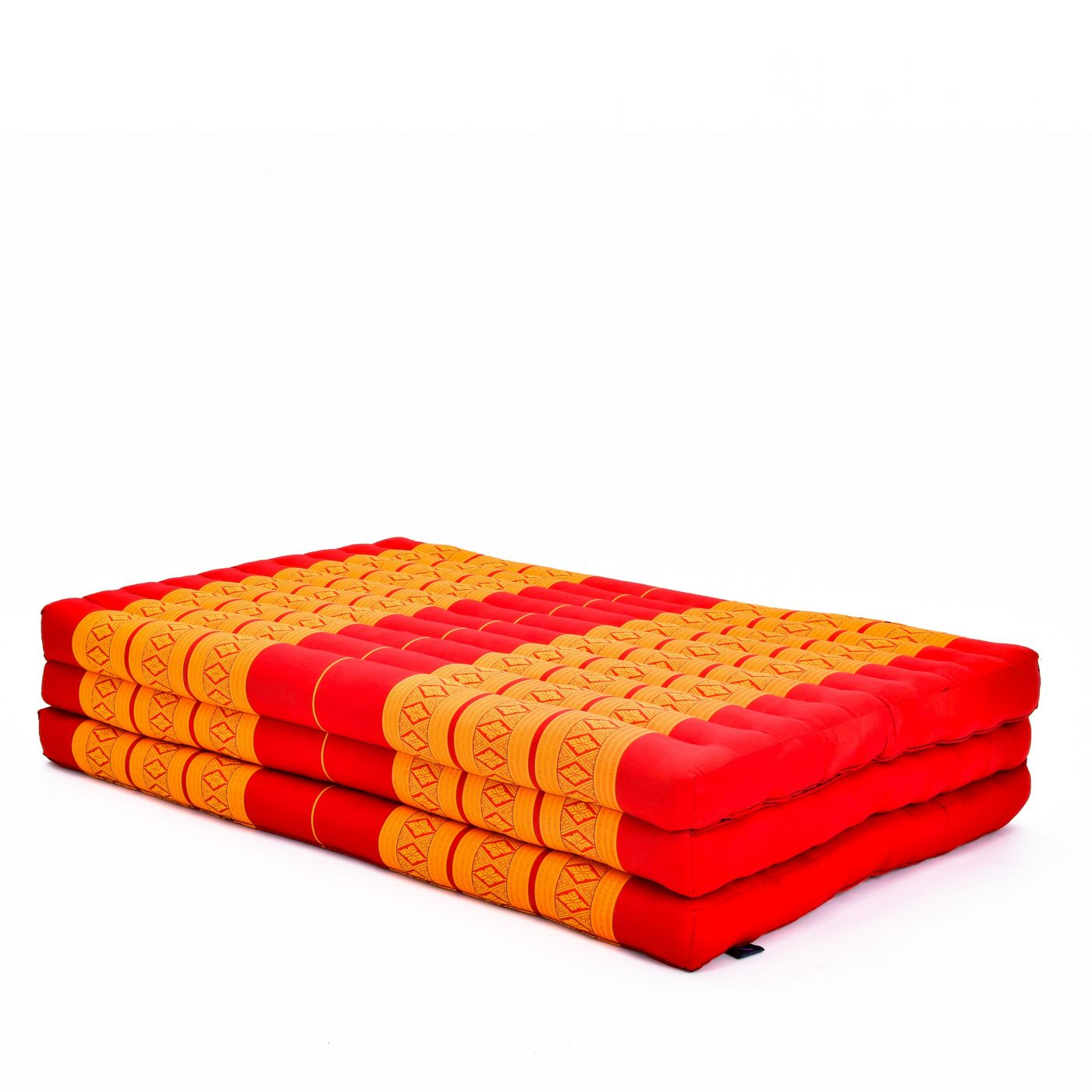 Leewadee Large Foldable Thai Mattress 82x46x3 Inches Guest Bed