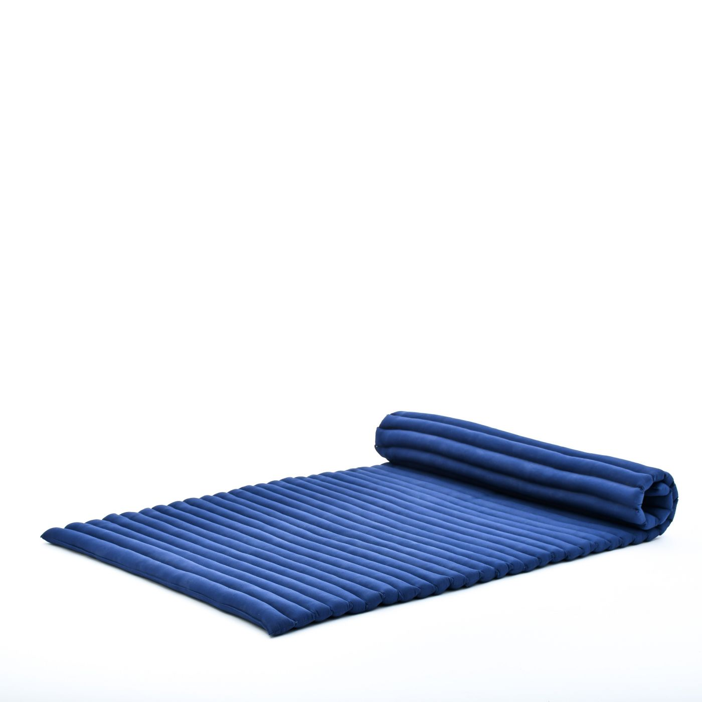Picture of: Leewadee Roll Up Thai Mattress Twinsize Guest Bed Yoga Floor Mat Thai Massage Pad Eco Friendly Organic And Natural 79x41x2 Inches Kapok Blue