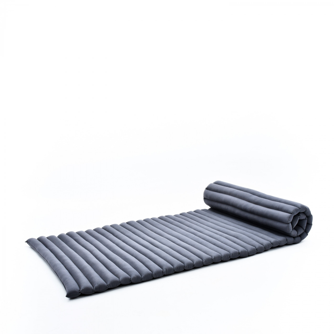 Picture of: Leewadee Roll Up Thai Mattress 200x76x5 Cm Guest Bed Yoga Floor Mat Thai Massage Pad Eco Friendly Organic And Natural Kapok Anthracite